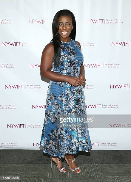 Actress Uzo Aduba attends the 2015 New York Women In Film Television Designing Women Awards Gala at Scholastic Auditorium on May 28 2015 in New York...