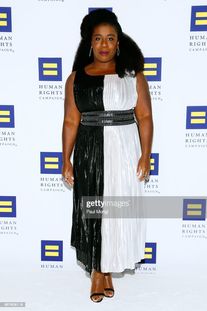 Actress Uzo Aduba attends the 21st Annual HRC National Dinner at the Washington Convention Center on October 28, 2017 in Washington, DC.