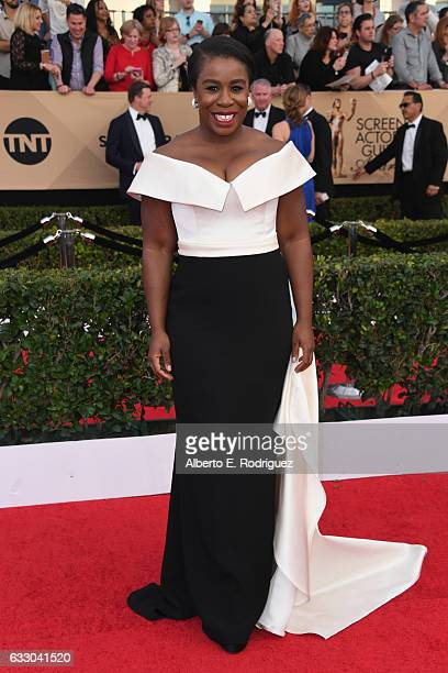 Actress Uzo Aduba attends the 23rd Annual Screen Actors Guild Awards at The Shrine Expo Hall on January 29 2017 in Los Angeles California