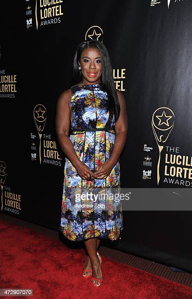 Actress Uzo Aduba attends the 30th Annual Lucille Lortel Awards at NYU Skirball Center on May 10 2015 in New York City