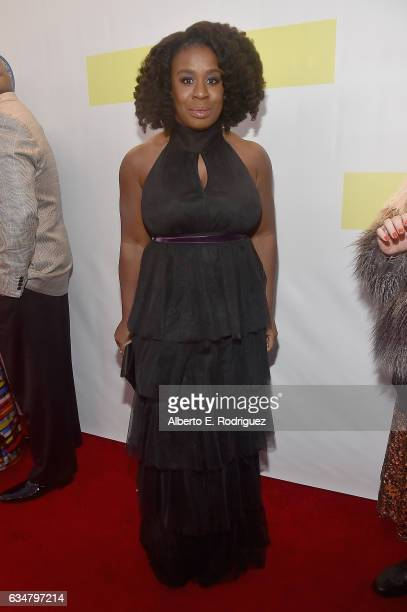 Actress Uzo Aduba attends the 48th NAACP Image Awards at Pasadena Civic Auditorium on February 11 2017 in Pasadena California