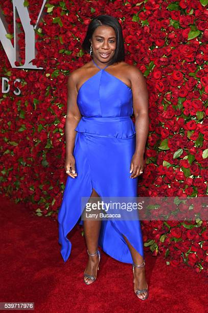 Actress Uzo Aduba attends the 70th Annual Tony Awards at The Beacon Theatre on June 12 2016 in New York City