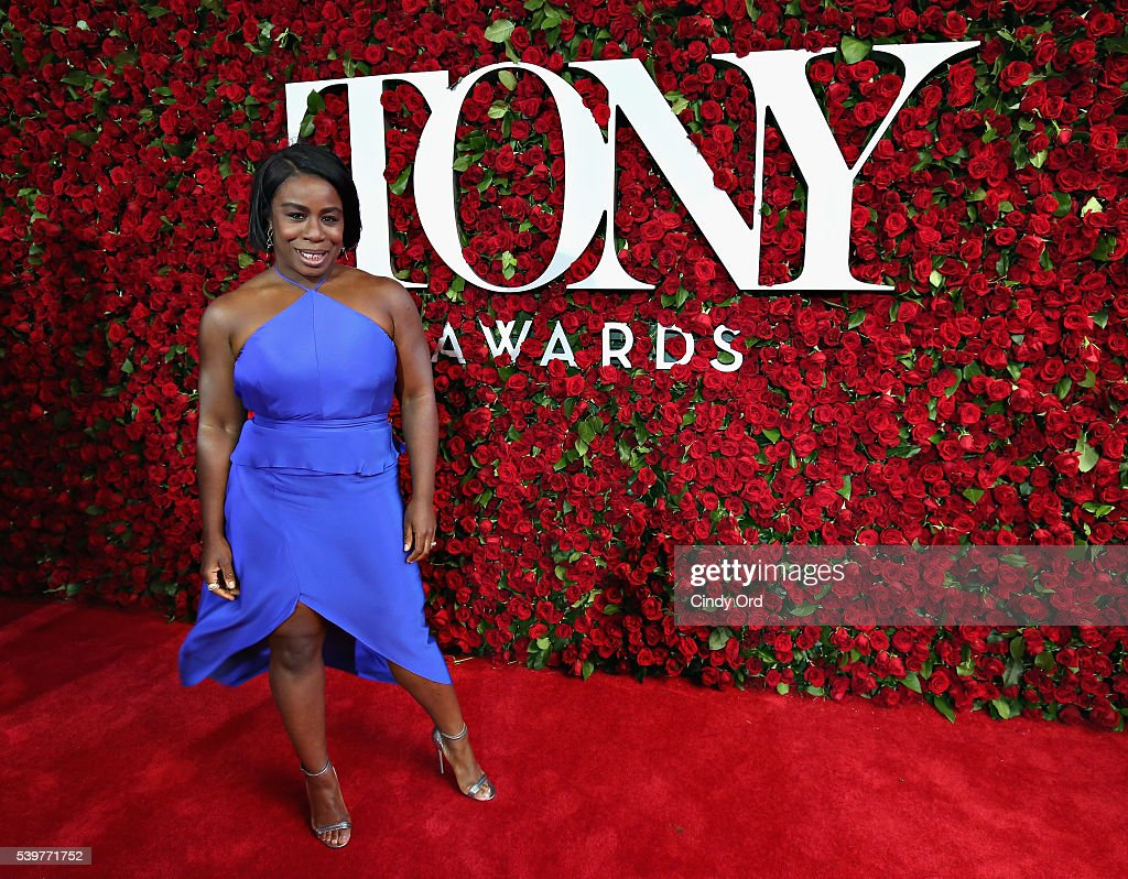 Actress Uzo Aduba attends the 70th Annual Tony Awards at The Beacon Theatre on June 12, 2016 in New York City.