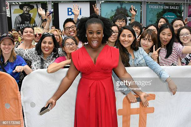 Actress Uzo Aduba attends the American Pastoral during the 2016 Toronto International Film Festival premiere at Princess of Wales Theatre on...