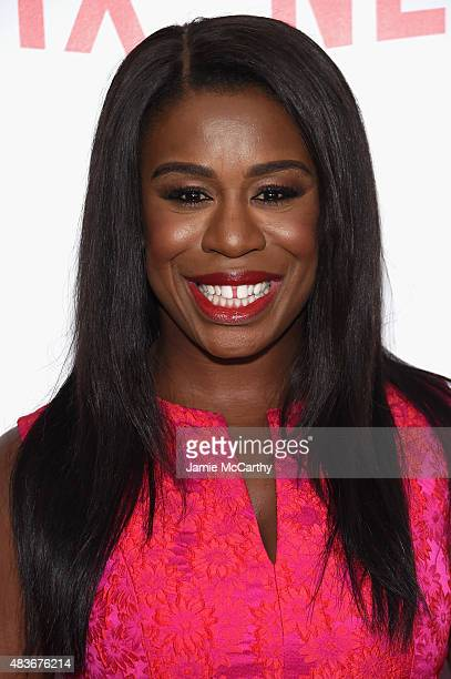 Actress Uzo Aduba attends the Orange Is The New Black FYC screening at DGA Theater on August 11 2015 in New York City