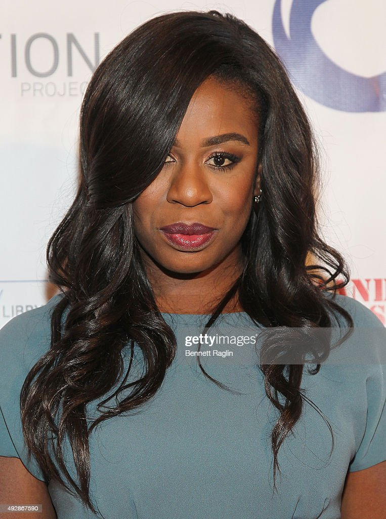 Actress Uzo Aduba attends The Resolution Project's Resolve 2015 Gala at The Harvard Club on October 15, 2015 in New York City.