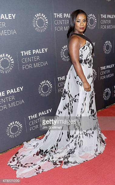 Actress Uzo Aduba attends the The Paley Center For Media hosts a tribute to AfricanAmerican achievements in television at Cipriani Wall Street on May...