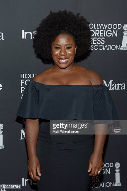 Actress Uzo Aduba attends the TIFF/InStyle/HFPA Party during the 2016 Toronto International Film Festival at Windsor Arms Hotel on September 10 2016...