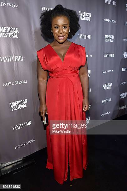 """Actress Uzo Aduba attends the Vanity Fair, Lionsgate and Nordstrom """"American Pastoral"""" celebration during the Toronto International Film Festival at..."""