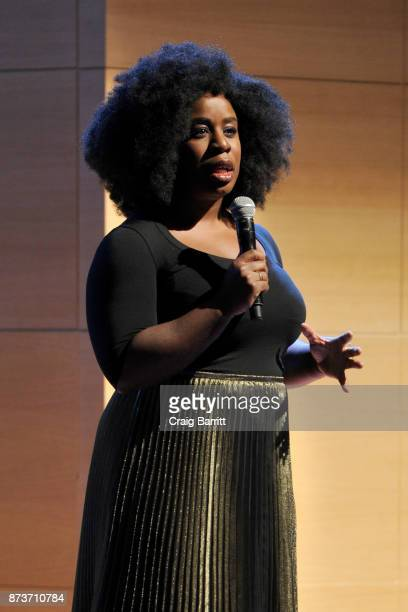 Actress Uzo Aduba performs onstage during Glamour Celebrates 2017 Women Of The Year Live Summit at Brooklyn Museum on November 13 2017 in New York...