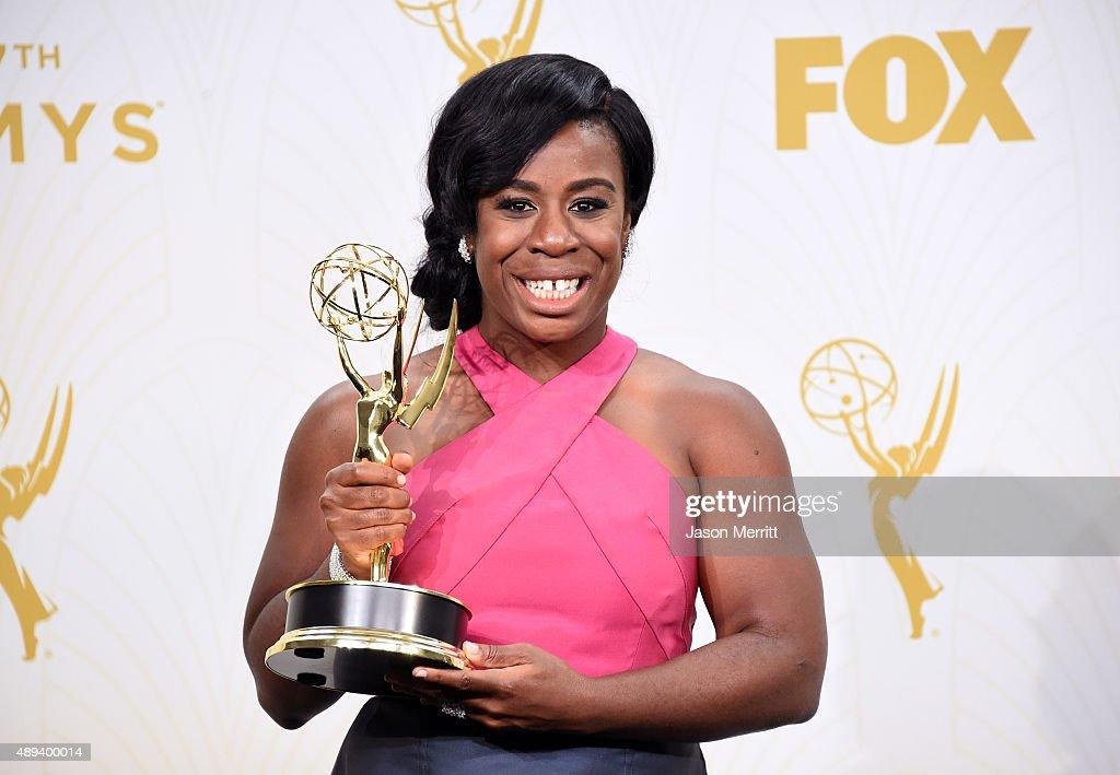 67th Annual Primetime Emmy Awards - Press Room : Nieuwsfoto's