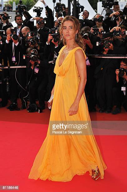 Actress Vahina Giocante arrives at the 'Che' Premiere at the Palais des Festivals during the 61st International Cannes Film Festival on May 21, 2008...