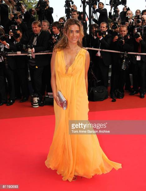 Actress Vahina Giocante attends the Che premiere at the Palais des Festivals during the 61st International Cannes Film Festival on May 21 2008 in...