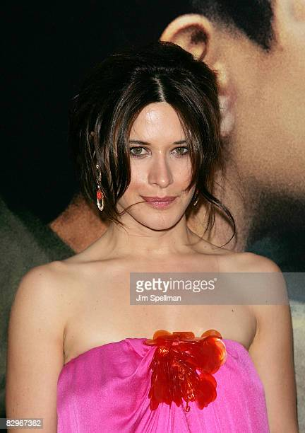 Actress Valentina Cervi attends the premiere of Miracle at St Anna at Ziegfeld Theatre on September 22 2008 in New York City