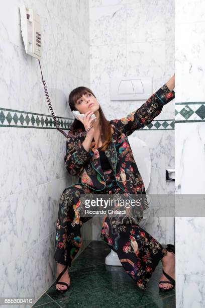 Actress Valentina Lodovini is photographed for Sef Assignment on August 30 2017 in Venice Italy