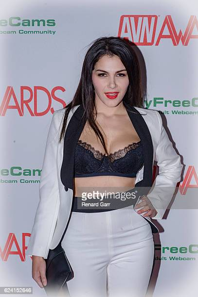 Actress Valentina Nappi arrives for the 2017 AVN Nomination Party at Avalon on November 17 2016 in Hollywood California