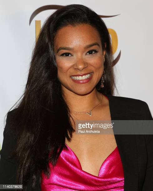 Actress Valenzia Algarin attends the 10th Annual Indie Series Awards at The Colony Theater on April 03 2019 in Burbank California