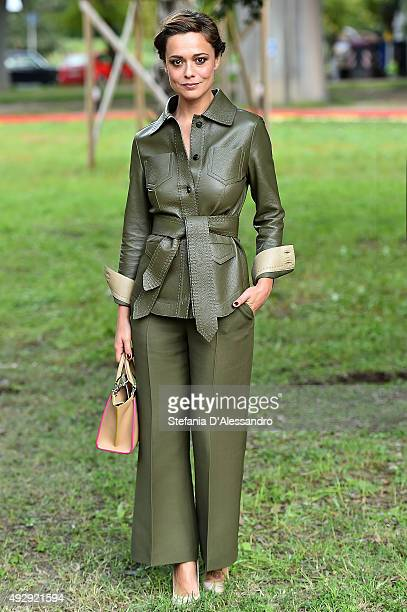 Actress Valeria Bilello attends a photocall for 'Monitor' during the 10th Rome Film Fest on October 16 2015 in Rome Italy