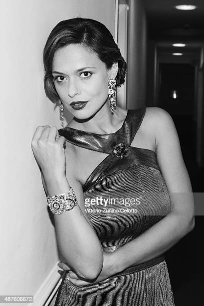 Actress Valeria Bilello is seen on September 10 2015 in Venice Italy
