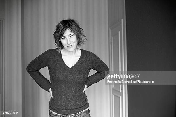 108881002 Actress Valeria Bruni Tedeschi is photographed for Madame Figaro on January 20 2014 in Paris France PUBLISHED IMAGE CREDIT MUST READ...