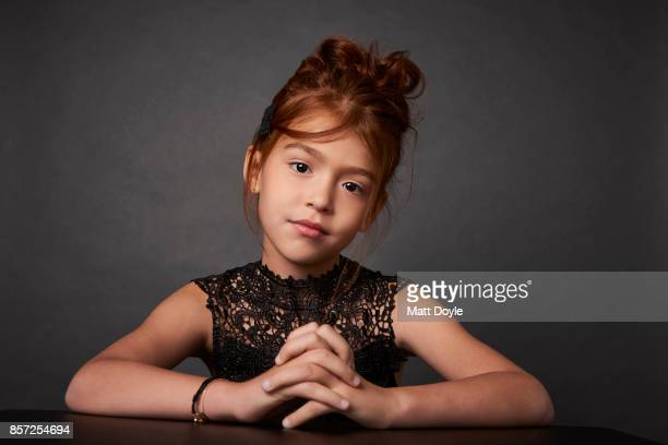 Actress Valeria Cotto from the film 'The Florida Project' poses for a portrait at the 55th New York Film Festival on October 1 2017