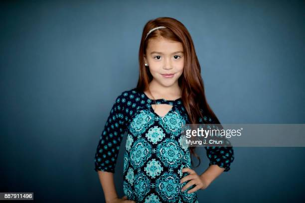 Actress Valeria Cotto of The Florida Project is photographed for Los Angeles Times on November 3 2017 in Los Angeles California PUBLISHED IMAGE...