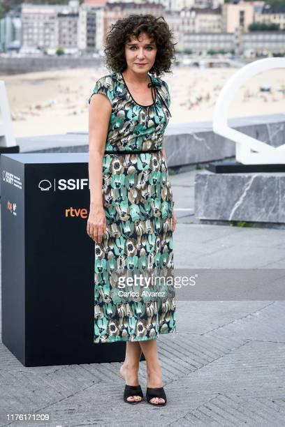 Actress Valeria Golino attends 'Adults In The Room ' photocall during 67th San Sebastian Film Festival at Kursaal San Sebastian on September 21 2019...