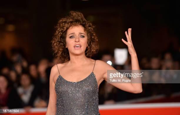 Actress Valeria Golino attends 'Come Il Vento' Premiere during The 8th Rome Film Festival at Auditorium Parco Della Musica on November 10 2013 in...