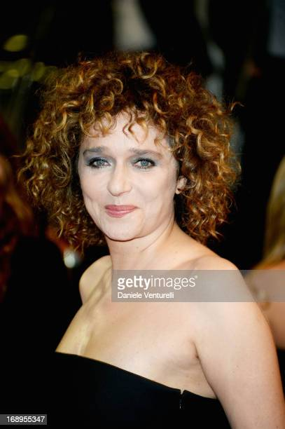 Actress Valeria Golino attends the Premiere of 'Miele' during The 66th Annual Cannes Film Festival at Palais des Festivals on May 17 2013 in Cannes...