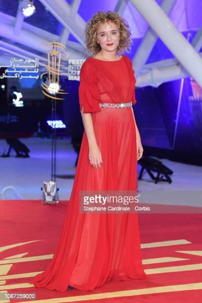 Actress Valeria Golino attends the Tribute to Robert De Niro during the 17th Marrakech International Film Festival on December 1 2018 in Marrakech...