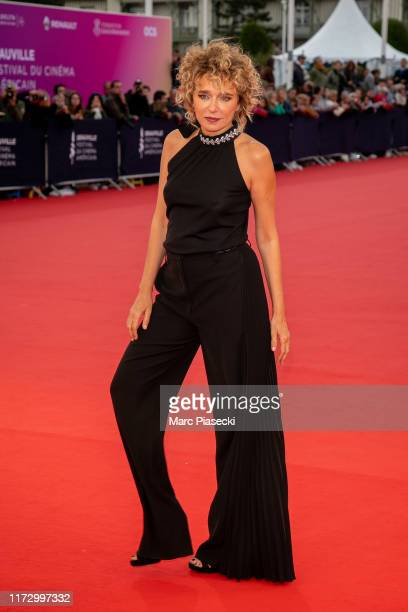 Actress Valeria Golino attends the Tribute to the 25 Years Of Competition during the 45th Deauville American Film Festival on September 07, 2019 in...