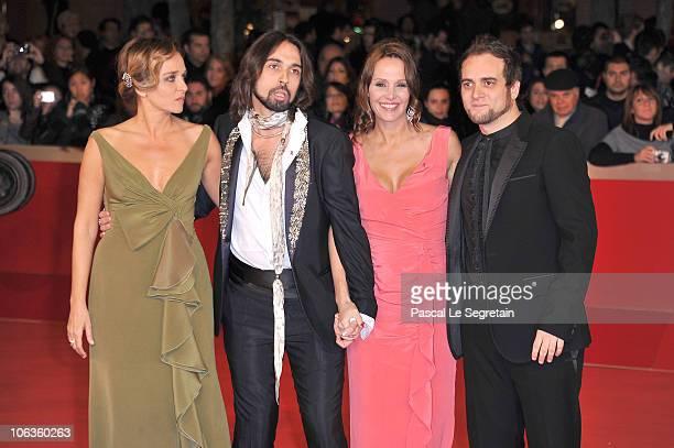 Actress Valeria Golino Francesco Sarcina actress Antonella Ponziani and Alessandro Deidda attends the 'La Scuola E Finita' Premiere during the 5th...