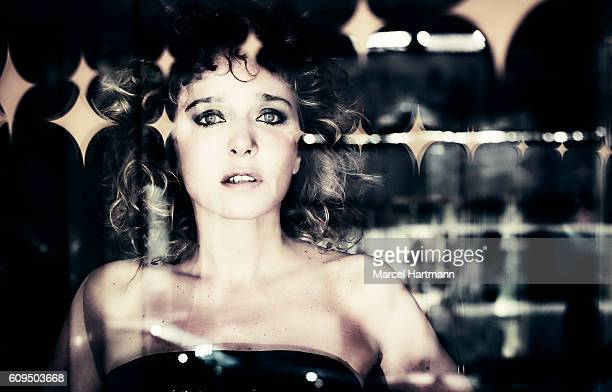 Actress Valeria Golino is photographed for Vanity Fair Italy on May 12 2016 in Cannes France