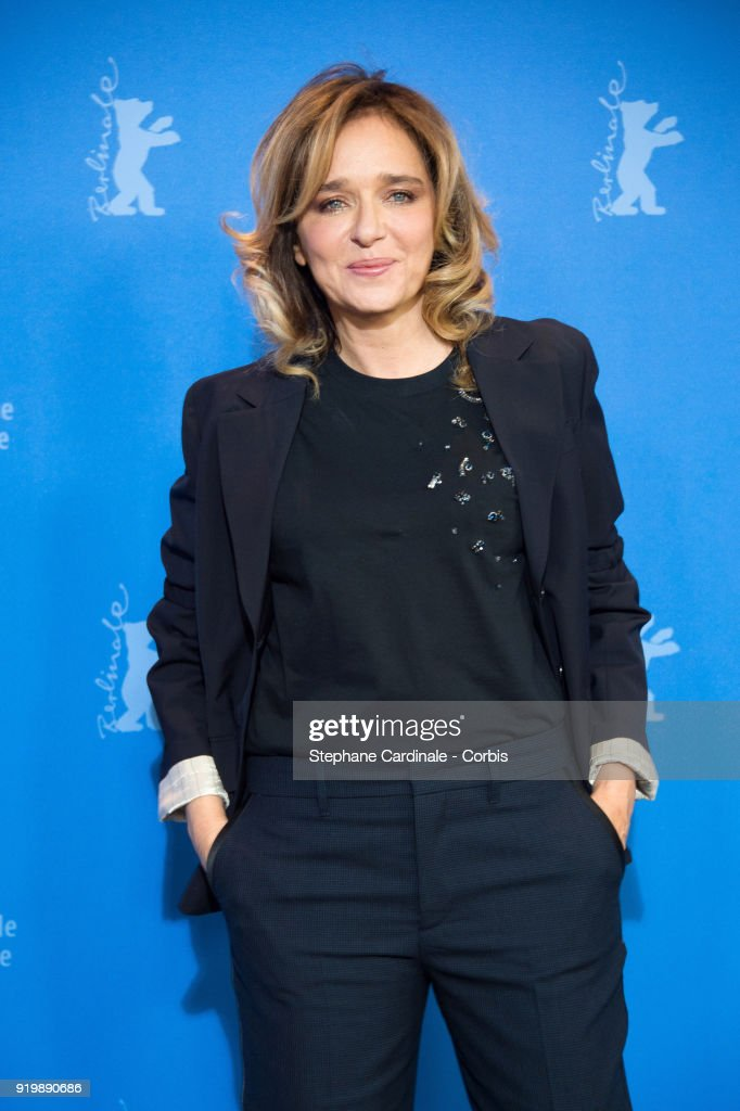 Actress Valeria Golino poses at the 'Daughter of Mine' (Figlia Mia) photo call during the 68th Berlinale International Film Festival Berlin at Grand Hyatt Hotel on February 18, 2018 in Berlin, Germany.