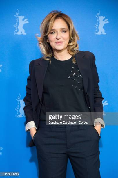 Actress Valeria Golino poses at the 'Daughter of Mine' photo call during the 68th Berlinale International Film Festival Berlin at Grand Hyatt Hotel...