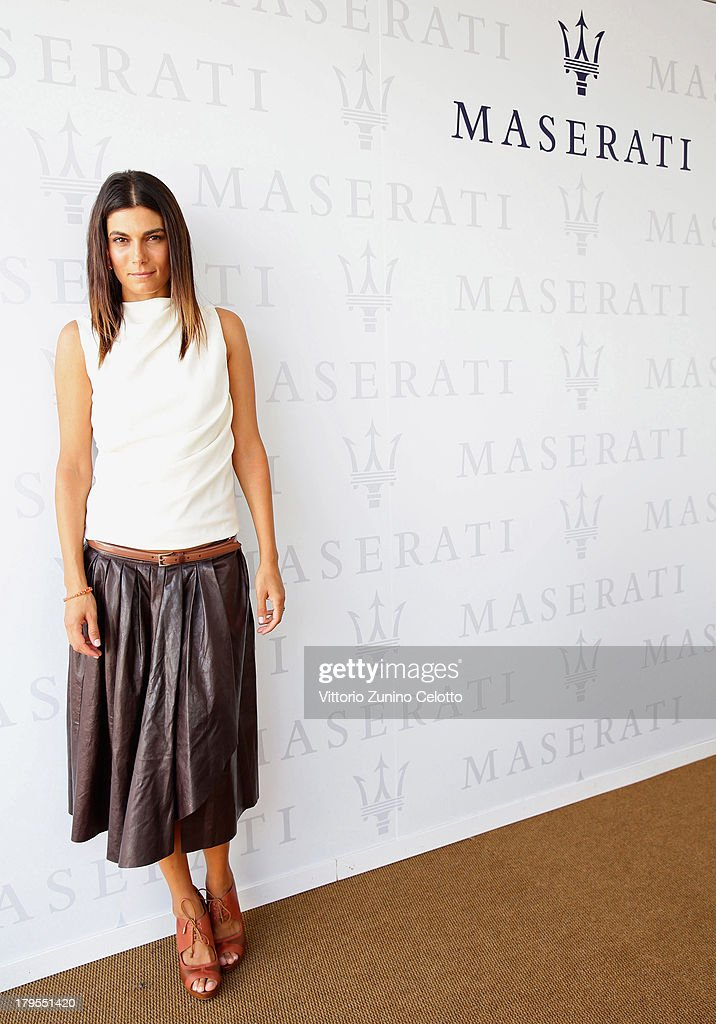 Actress Valeria Solarino attends the 70th Venice International Film Festival at Terrazza Maserati on September 5, 2013 in Venice, Italy.