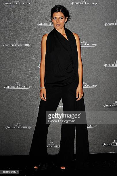 Actress Valeria Solarino attends the Jaeger LeCoultre Party during the 67th Venice Film Festival at the Teatro alle Tese on September 7 2010 in...