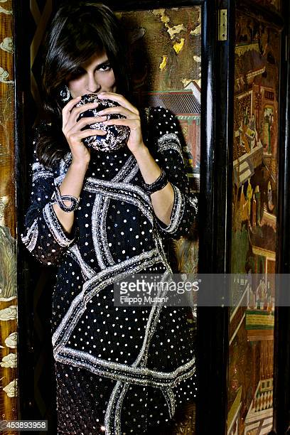 Actress Valeria Solarino is photographed for Vanity Fair Italy in Turin Italy