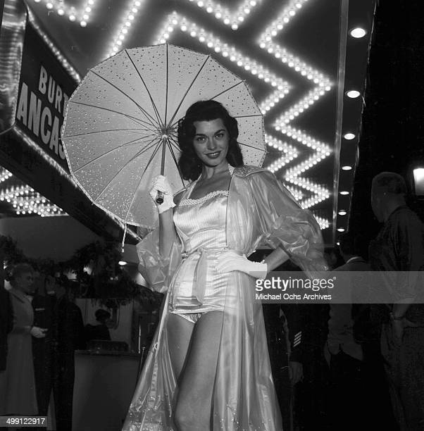 Actress Valerie Allen attends a premiere of The Rainmaker in Los Angeles California
