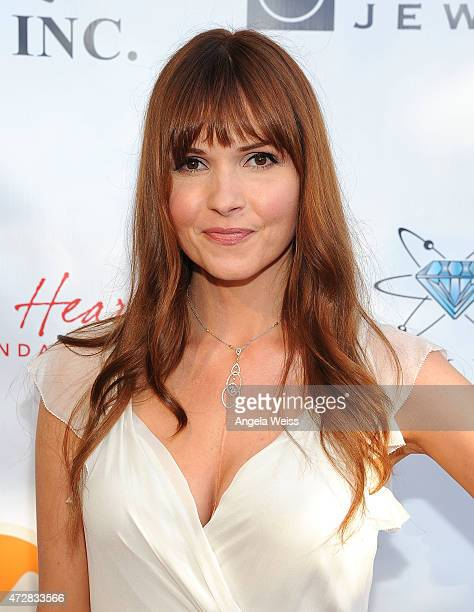 Actress Valerie Azlynn Attends The Th Annual Open Hearts Foundation Gala On May   In
