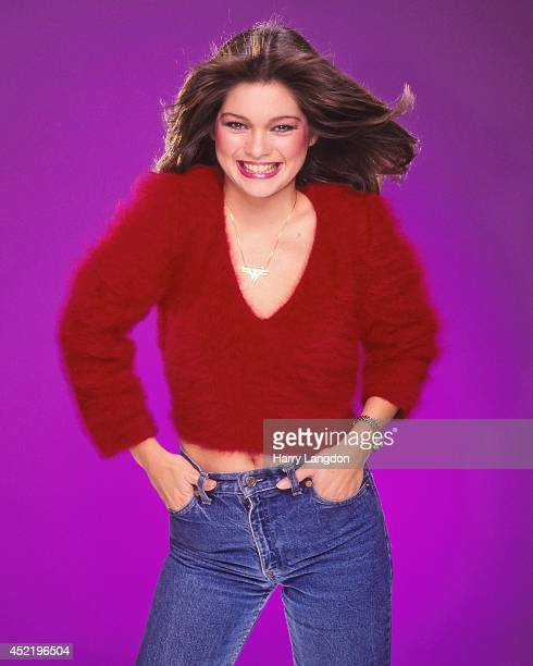 Actress Valerie Berinelli poses for a portrait in 1985 in Los Angeles California