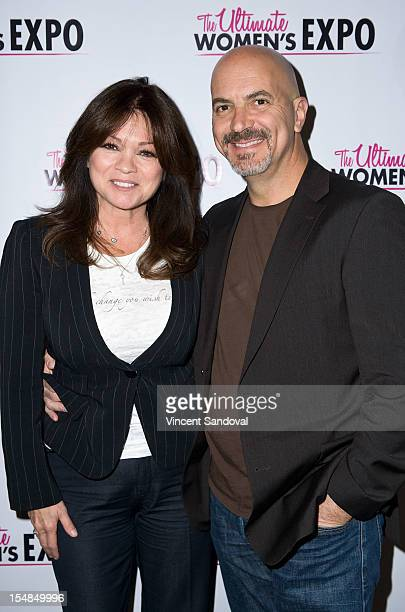 Actress Valerie Bertinelli and husband Tom Vitale attend the 2012 Los Angeles Women's Expo Day 1 at Los Angeles Convention Center on October 27 2012...