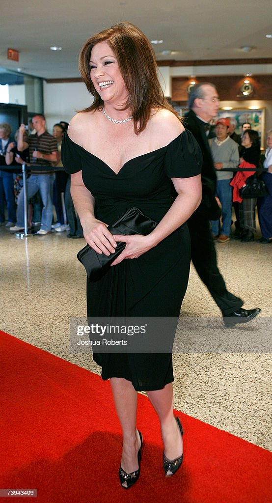 Actress Valerie Bertinelli arrives at the White House Correspondents' Association Dinner in April 21, 2007 in Washington, DC.
