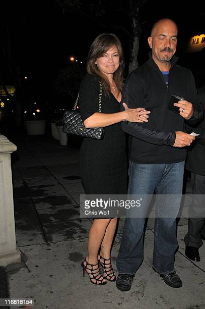 Actress Valerie Bertinelli sighting on April 2 2008 in West Hollywood California