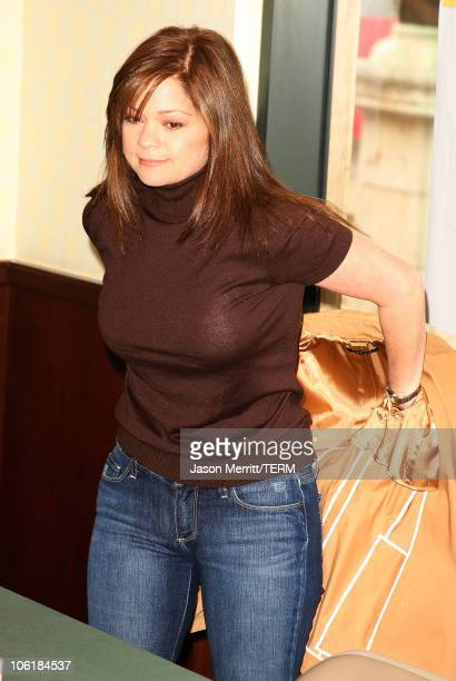 Actress Valerie Bertinelli signs copies of her new book Losing It at Barnes Noble on March 1 2008 at The Grove in Los Angeles California