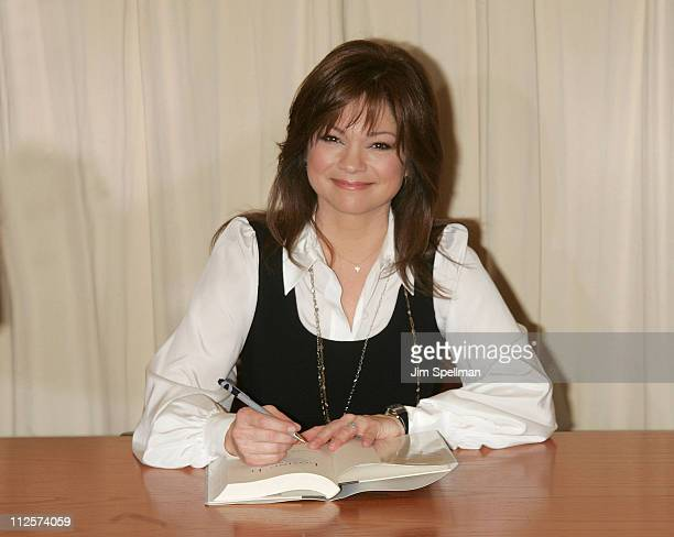 Actress Valerie Bertinelli signs her new book Losing It And Gaining My Life Back One Pound at a Time at Barnes Noble Fifth Avenue on February 27 2008...