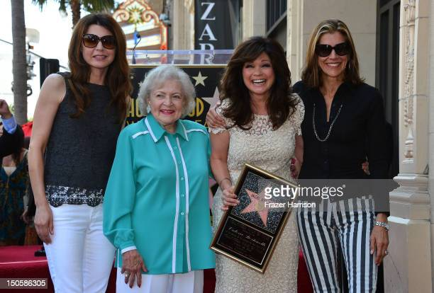 Actress Valerie Bertinelli who was honored with the 2,476th Star on the Hollywood Walk of Fame in the Category of Television with her 'Hot in...