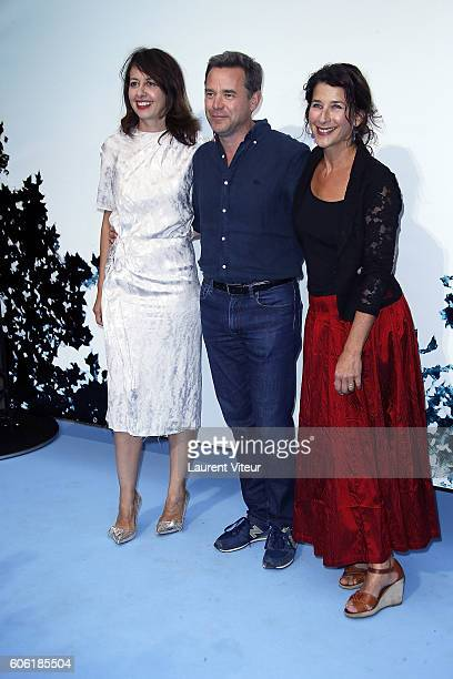 Actress Valerie Bonneton Actor Guillaume de Tonquedec and Actress Isabelle Gelinas attend the 'Tuer un Homme' Photocall during the 18th Festival of...