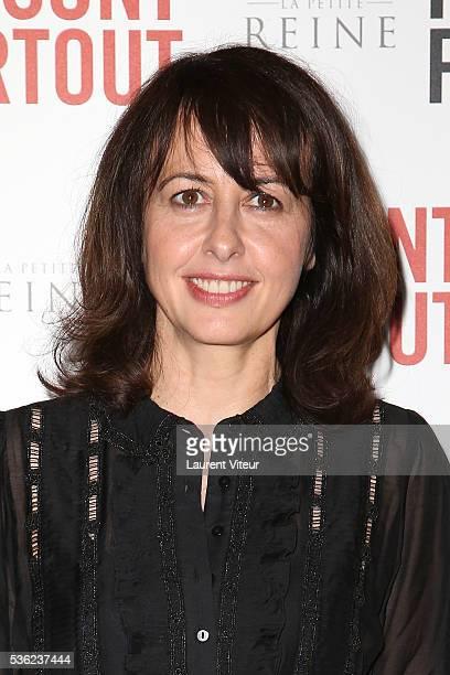 Actress Valerie Bonneton attends 'Ils sont Partout' Paris Premiere at Gaumont Capucines on May 31 2016 in Paris France