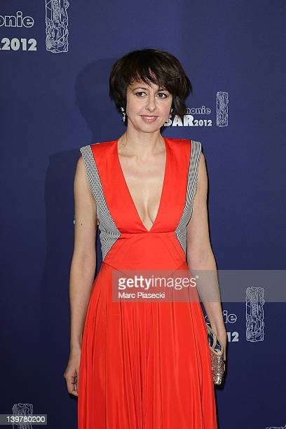 Actress Valerie Bonneton attends the 37th Cesar Film Awards at Theatre du Chatelet on February 24 2012 in Paris France